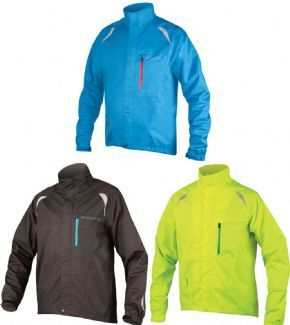 Endura Gridlock 2 Waterproof Jacket - Excellent road visibility with reflective on sleeves front and rear.