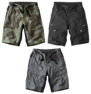 Madison Trail Shorts With Liner  - Ripstop fabric ensures the shorts remain in good condition season after season