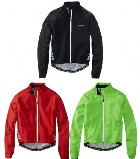Madison Sportive Hi-viz Waterproof Jacket - Subtle in the day time but lights up like a Christmas tree when car headlights catch it