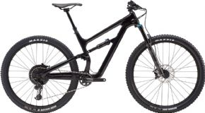 Cannondale Habit Carbon 3 29er Mountain Bike  2019 - Cro-Mo rails are durable and offer great strength to weight ratio