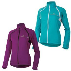 Pearl Izumi Women`s Elite Barrier Convertible Jacket - Just as good for tearing up sections of singletrack as it is rolling down to your local sh